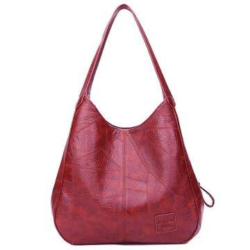 Женская сумка, красная П2073