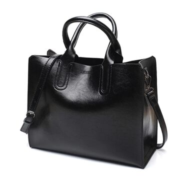 Женская сумка ACELURE, черная П0110