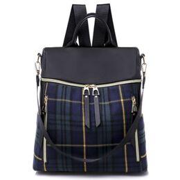 Женский рюкзак TuLaduo, синий 2102