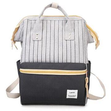 Женский рюкзак, серый П2105