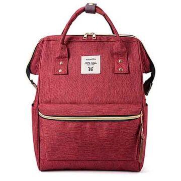 Женский рюкзак, красный П2107