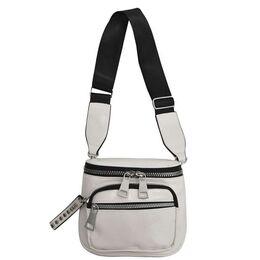Женская сумка на плечо, белая 2109