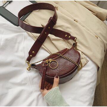 Женская сумочка клатч, красная П2127