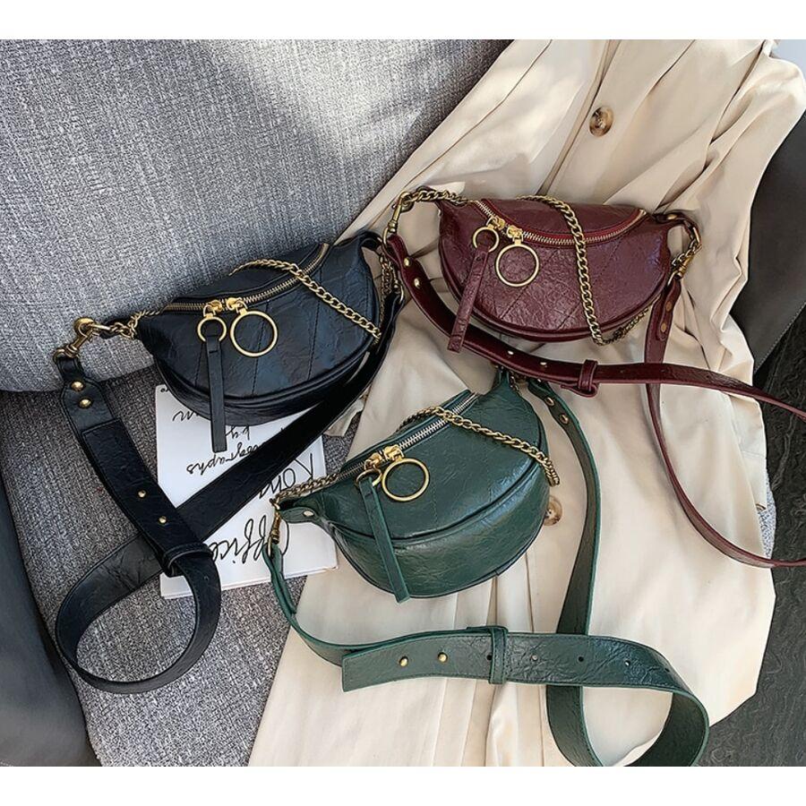 Женские сумки - Женская сумочка клатч, черная П2130