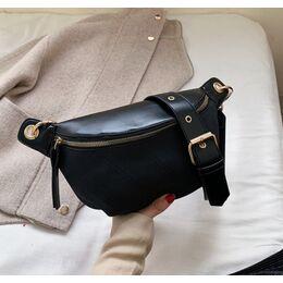 Женская сумочка клатч, черная П2133