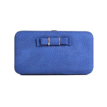 Женский кошелек Lady·Beibei, синий П0116