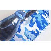 Сумка поясная, бананка, синий камуфляж П2149