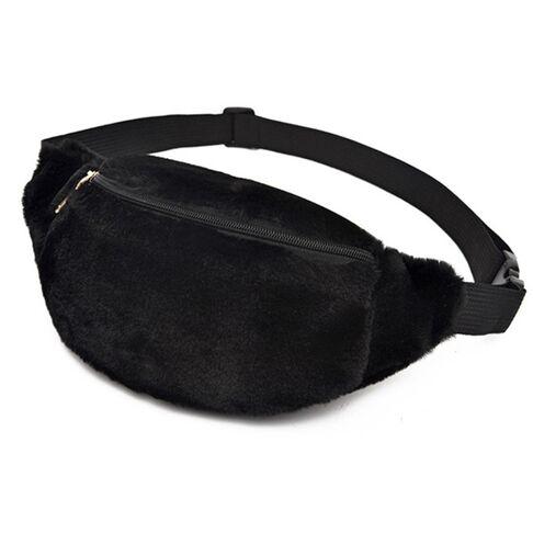 Поясные сумки - Сумка поясная, бананка, плюшевая, П2155