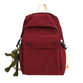 Женский рюкзак, красный П2171
