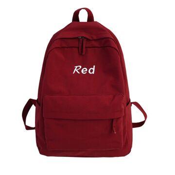 Женский рюкзак, красный П2179