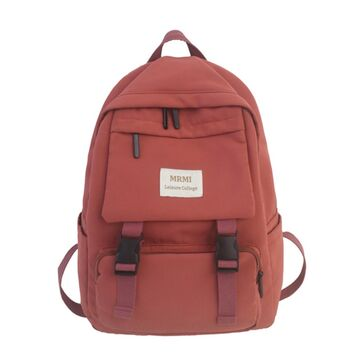 Женский рюкзак, оранжевый П2187