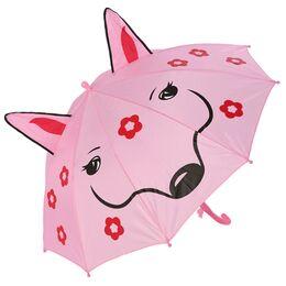 Детский зонтик розовый 0122