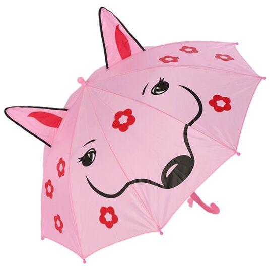 Детские зонты - Детский зонтик розовый П0122