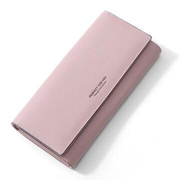 Женский кошелек WEICHEN, розовый П2196