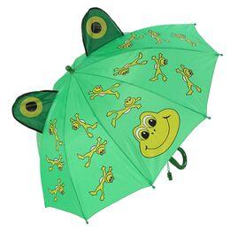 Детский зонтик зеленый 0123