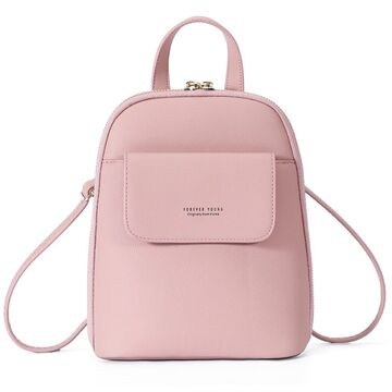 Женский рюкзак WEICHEN, розовый П2209