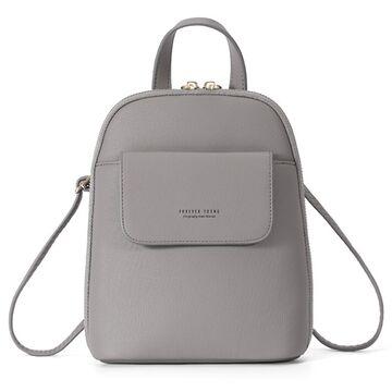 Женский рюкзак WEICHEN, серый П2210