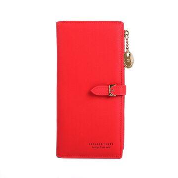 Женский кошелек WEICHEN, красный П2223