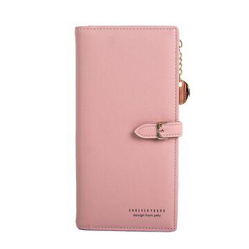 Женский кошелек WEICHEN, розовый П2225