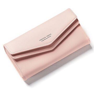 Женский кошелек WEICHEN, розовый П2228