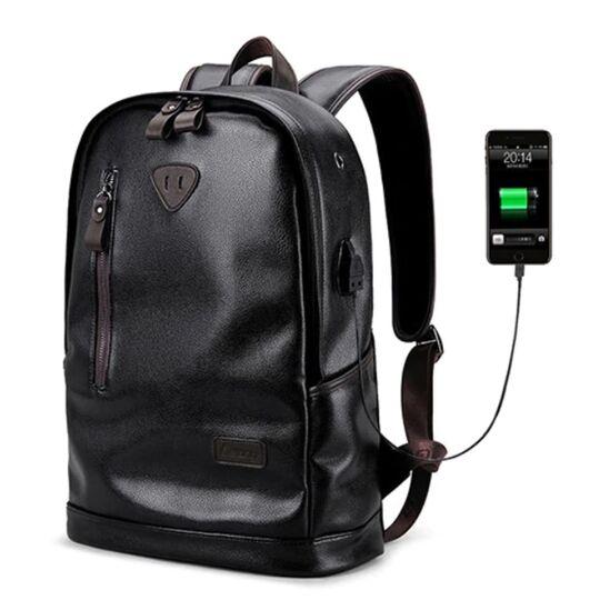 Мужские рюкзаки - Мужской рюкзак LIELANG, черный П0128