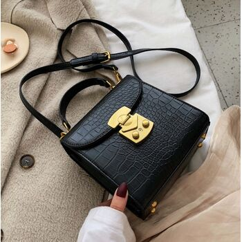 Женская сумка клатч, черная П2255