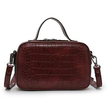 Женская сумочка на плечо, красная П2261
