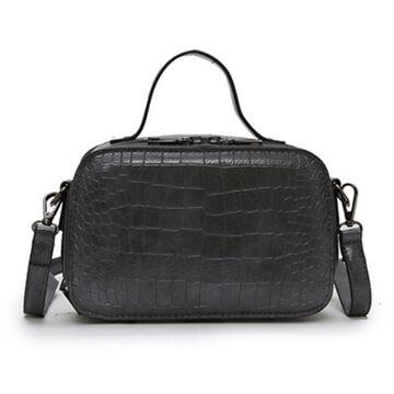 Женская сумочка на плечо, серая П2263