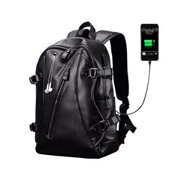 Мужской рюкзак LIELANG, черный П0129