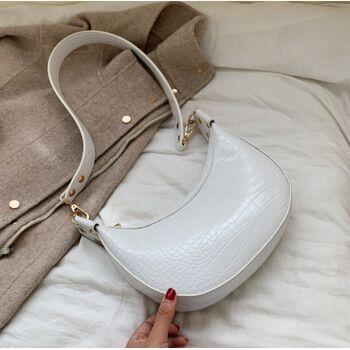 Женская сумка на плечо, белая П2269