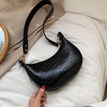 Женская сумка на плечо, черная П2271