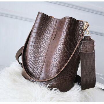 Женская сумка, коричневая П2272
