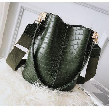 Женская сумка, зеленая П2273