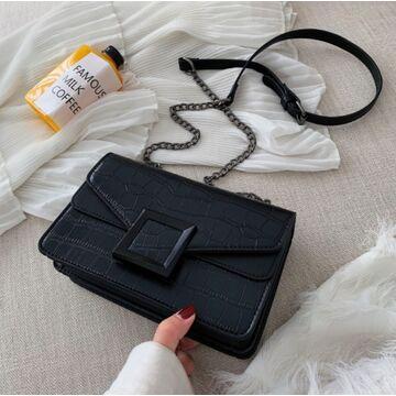 Женская сумка клатч, черная П2281
