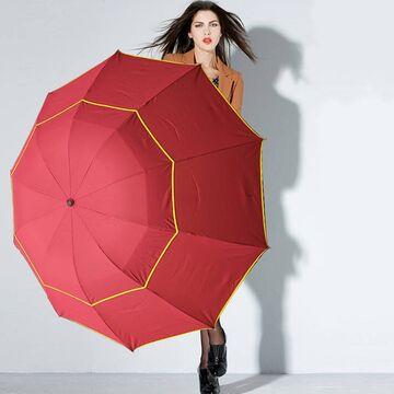 Зонтик красный П0131