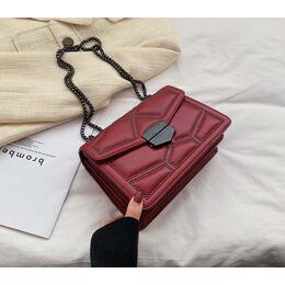 Женская сумка клатч, красная П2284
