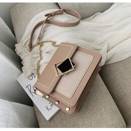 Женская сумка клатч, коричневая П2288