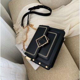 Женская сумка клатч, черная П2290