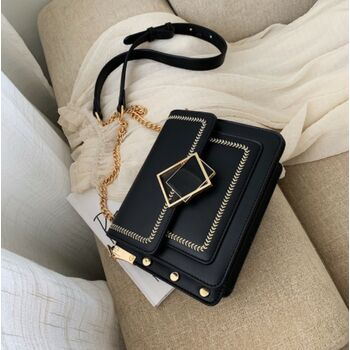 Женская сумка клатч, черная 2290