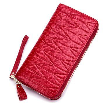 Женский кошелек, красный П2304