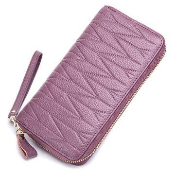 Женский кошелек, фиолетовый П2305