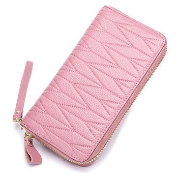 Женский кошелек, розовый П2306