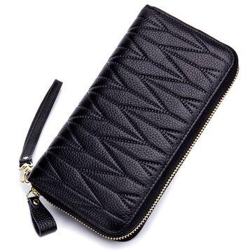 Женский кошелек, черный П2307
