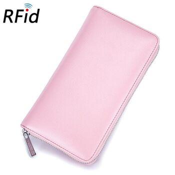 Женский кошелек, розовый П2309