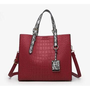 Женская сумка FUNMARDI, красная П2317