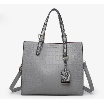 Женская сумка FUNMARDI, серая П2318