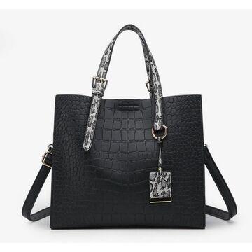 Женская сумка FUNMARDI, черная П2319