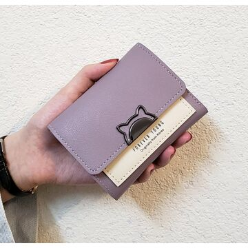 Женский кошелек, фиолетовый П2325