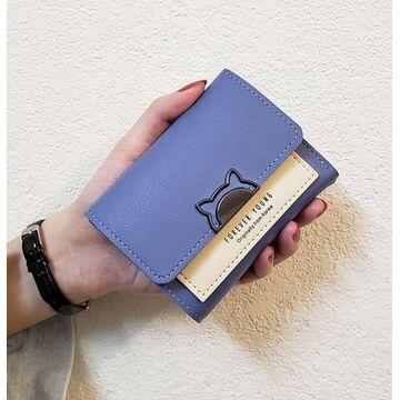 Женский кошелек, синий П2326
