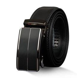 Мужской ремень COWATHER, черный 2342